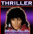 FANCY DRESS COSTUME # MENS MICHAEL JACKSON Thriller Wig RRP £15.99